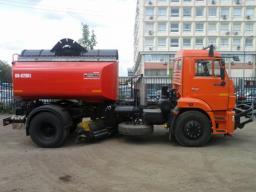 Комбинированная Дорожная машина КО-829А1-01 на шасси КамАЗ-43253 (ПМ+ПЩ)