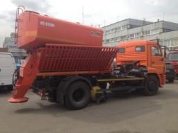 Комбинированная Дорожная машина КО-829А1 на шасси КамАЗ-43253 (ПС+ПМ+ПЩ)