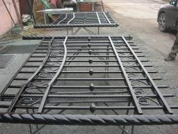 Производство металлических заборов из профлиста