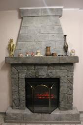 Декор камина, декор каминов, декоративный портал для камина