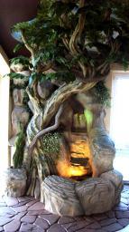 Декоративные деревья, деревья из искусственного камня, деревья из полимербетона, деревья из камня
