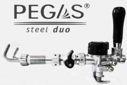 PEGAS Steel Duo, устройство розлива пива (пеногаситель Стил Дуо) кран пивной