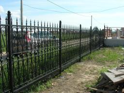 Заборы и ворота из металла