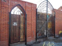 Кованые ограждения и ворота