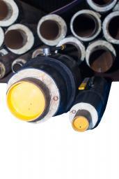 Производство ППУ изоляции шаровых кранов и аналогичной запорной арматуры