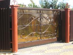 Ворота откатные своего производства в Нижнем Новгороде Сормово