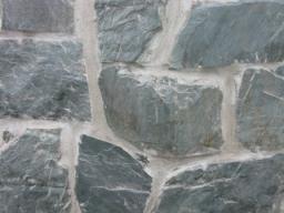 Природный камень сланец зеленый отборный в мешках L 12-45 см. d=1-2,5 см