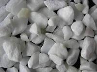 Щебень мраморный белый 20-70 мм, в мешках 40 кг