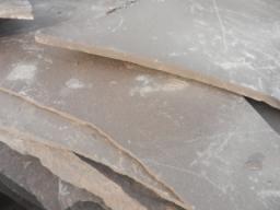 Песчаник цвет шоколода плитняк, 0,5-3 см.