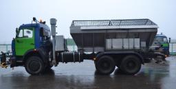 Комбинированная машина ЭД-405 на шасси КамАЗ-65115 с двигателем Евро-4