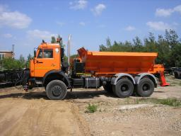 ЭД-405 на шасси КамАЗ-65115 с двигателем Евро-3