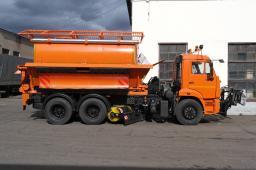 Дорожная машина КДМ-650-08 на шасси КамАЗ-65115 (г/п шасси 15 тонн)