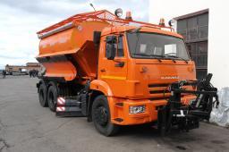 Дорожная машина КДМ-650-08-01 на шасси КамАЗ-65115 (г/п шасси 17 тонн)