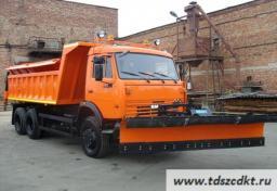 КДМ-650-04 на самосвале КамАЗ-65115 (6х4)