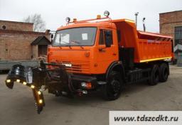 КДМ-650-04-01 шасси КамАЗ 65115 с самосвальным кузовом