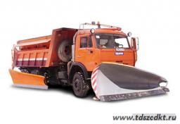 ЭД-405В на шасси КамАЗ 65115 с самосвальным кузовом