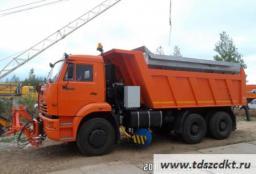 Комбинированная машина ЭД-405В1 на базе КамАЗ 6520 с бункером из нержавеющей стали