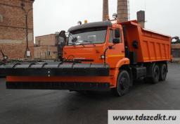 КДМ-650-07 на самосвале КАМАЗ 6520