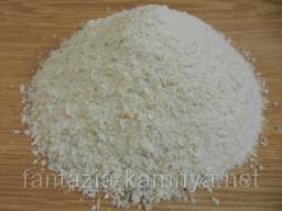 Мраморная крошка, белая-кремовая 0-2 мм. в мешках 40 кг