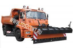 КДМ-650-09-01 на самосвале КамАЗ 53605 (4х2)