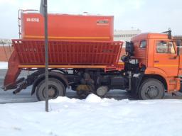 КО-829Д на шасси КамАЗ-53605 (4х2) дорожная машина зима-лето