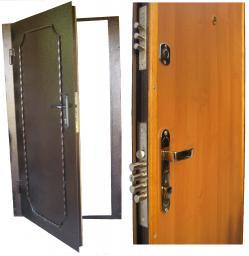 Дверь входная металлическая ДГВ-Мл