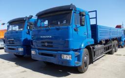 Бортовой КамАЗ-65117-6010-23 (6х4, г/п 14 тонн, двигатель Евро-4)