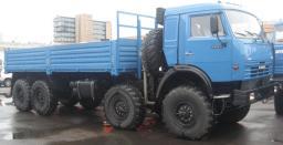 Бортовой КамАЗ-63501-6996-40 (8х8, г/п 14 тонн) для установки геофизического оборудования