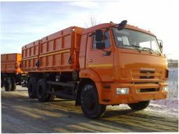 Самосвал КамАЗ-45144 с двигателем Евро-3 (6х4, г/п 14,5 тонны, кузов 18,8 куб.м.)