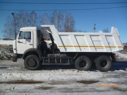 Самосвал КамАЗ-65115 с двигателем 240 л.с. (Евро-3)