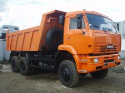 Самосвал КамАЗ-6522 с двигателем Евро-3 (6х6, 320 л.с., г/п 19 тонн)