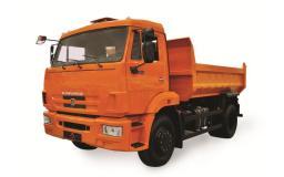 Самосвал КамАЗ-43255-6010-25 (4х2, г/п 7,75 тонны, объем кузова 6 куб.м., Евро-4)