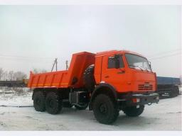 Самосвал КамАЗ-45141-011-46 (6х6, г/п 9,5 тонны, двигатель 300 л.с., Евро-4)
