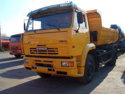 Самосвал КамАЗ-53605-6010-23 (4х2, г/п 11,7 тонны, кузов 6,5 куб.м., Евро-4)