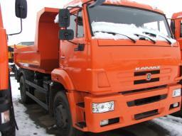 Самосвал с задней разгрузкой КамАЗ-53605-6010-19 (4х2, двигатель Евро-4, 300 л.с.)