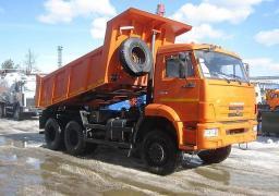 Самосвал КамАЗ-65111 (6х6, двигатель 300 л.с., Евро-4)