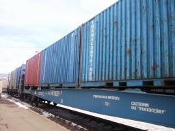 Доставка грузов контейнерами из Москвы по России.