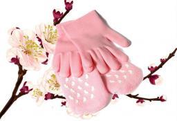 Увлажняющие силиконовые носки.