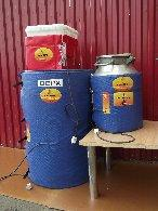 Нагреватель поверхностный промышленный для разогрева сырья в емкостях-фляга (НПП ТЭМЕ)