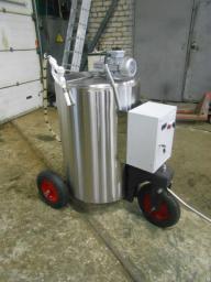 Молочное такси для телят (объем 150л)