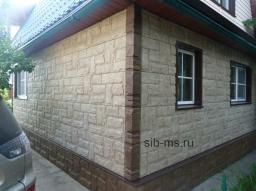 Монтаж фасадных панелей с подсистемой