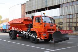 Дорожная машина ЭД-244КМ на шасси КамАЗ-53605 (зимний вариант)