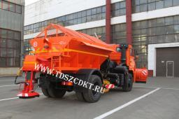 Пескоразбрасывающая машина КДМ-7881.04 на шасси КамАЗ-53605