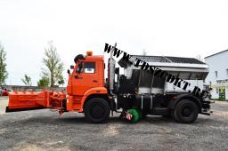 КДМ-7881.04 на шасси КамАЗ-53605 с бункером из нержавеющей стали
