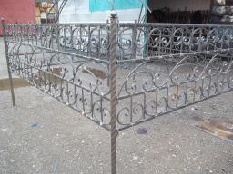 Скамейки ограды с элементами ковки