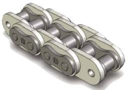 """Специальные цепи для фрезерных станков Sharp top chains 1"""" (16B) 5118.000.09"""