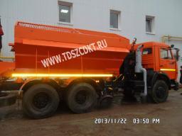КДМ на шасси КамАЗ-53215 с колесной формулой 6х4 и двигателем Евро-3
