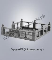 Оградка из гранита 1