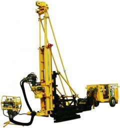 Буровая установка для подземного кернового бурения CKD600A (на колесном ходу)