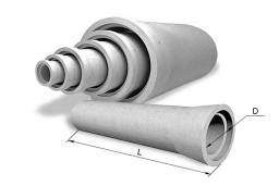 Труба безнапорная круглая Т 140-25-3 2610х1400х1400